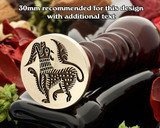 Celtic D21 Wax Seal Stamp
