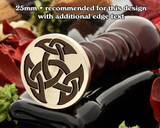 Celtic D23 Wax Seal Stamp