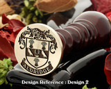 Aldridge Family Crest Wax Seal D2