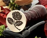 Rose 3 wax seal