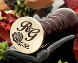 Rose 11 wax seal