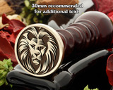Lion D13/N Wax Seal Stamp