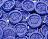 Crown 8 Sealing Wax Peel n stick handmade wax impressions