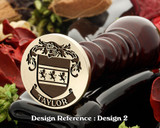 Taylor Family Crest Wax Seal D2