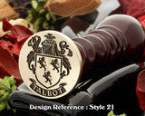 Talbot 2 Family Crest Wax Seal D21