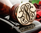 Victorian Monogram Wax Seal SS Design 2