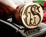 Victorian Monogram Wax Seal CS Design 2