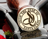 From the Desk of Santa Clause Monogram D3 Wax Seal Stamp