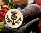 Thistle Wax Seal Design