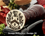 Byrne Family Crest Wax Seal D18