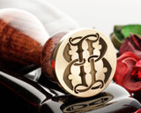 BB Victorian Monogram Wax Seal Design 2