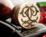 Victorian Monogram Wax Seal QQ Design 1