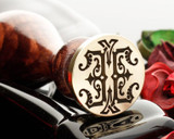 Victorian Monogram Wax Seal EE design 2
