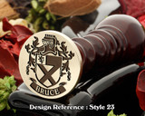 Bruce (Irish) Family Crest Wax Seal  D23