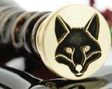 Fox design 2 custom drawn design.