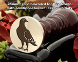 Pigeon Wax Seal Stamp