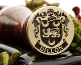 Dillon Family Crest Wax Seal Stamp