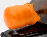 Orange Bottle Wax, cut in 100g blocks (approx)