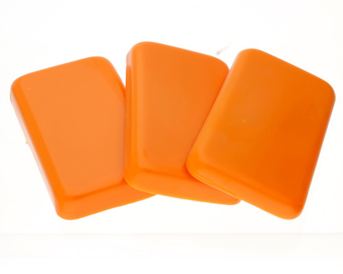 Orange Bottle Sealing Wax, Stock Colour