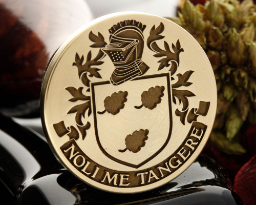 TOBIN Family Crest Wax Seal
