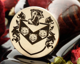 Loy Family Crest Wax Seal from 30mm, reverse engraved