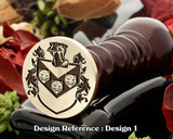 Loy Family Crest Wax Seal