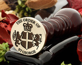 The Order of St George Royal Crest Wax Seal