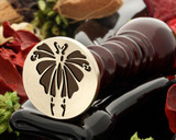 Art Deco D9 wax seal