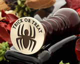 Trick or Treat Halloween Spider Wax Seal