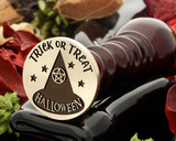 Witches Hat Trick or Treat Wax Seal