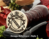 Adderley Family Crest Wax Seal D15