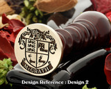 McGrath (Irish) Family Crest Wax Seal
