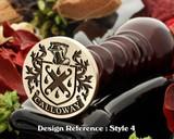 Calloway Family Crest Wax Seal D4