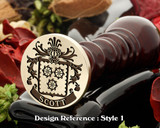 Scott Family Crest Wax Seal D1