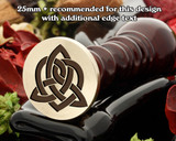 Celtic D25 Wax Seal Stamp