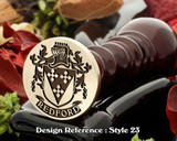 Redford Family Crest Wax Seal D23