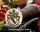 Whitfield Family Crest Wax Seal D1