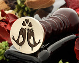 Birds Kiss Wax Seal