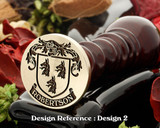 Robertson D2 Family Crest Wax Seal