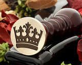 Crown 18 wax seal