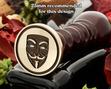 Anonymous Mask Wax Seal