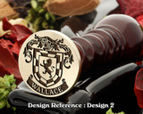 Wallace Family Crest Wax Seal D2