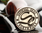 Christmas Wax Seal Official Seal North Pole Monogram