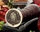 Lion D21 Wax Seal Stamp