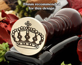 Crown 11 Wax Seal