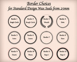 Border Options from 25mm only (small extra cost)