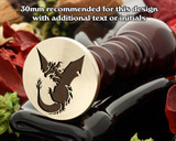 Dragon D2 Wax Seal Stamp
