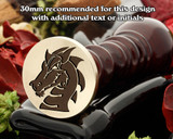 Dragon D5 Wax Seal Stamp
