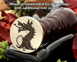 Dragon D7 Wax Seal Stamp