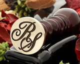 RS Wax Seal Monogram (photo reversed)